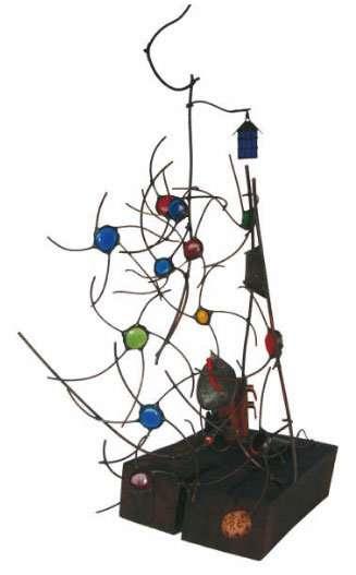 obras escultura en vidrio madera cobre roberto escobar arango